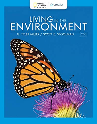Living in the Environment:   2020 9780357142202 Front Cover