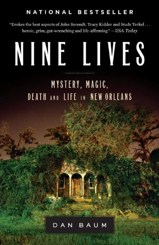 Nine Lives Mystery, Magic, Death, and Life in New Orleans N/A edition cover