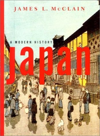 Japan A Modern History  2002 edition cover