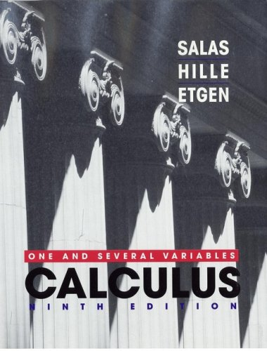 Calculus One and Several Variables 9th 2003 (Revised) 9780471231202 Front Cover