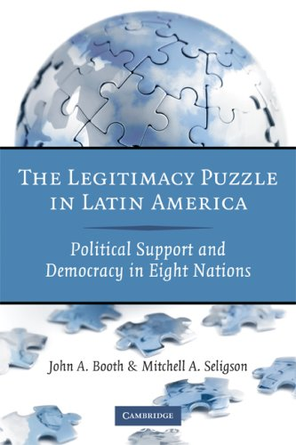 Legitimacy Puzzle in Latin America Political Support and Democracy in Eight Nations  2009 edition cover