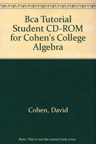 College Algebra  5th 2003 9780534378202 Front Cover