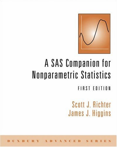 SAS Companion for Nonparametric Statistics   2006 9780534422202 Front Cover