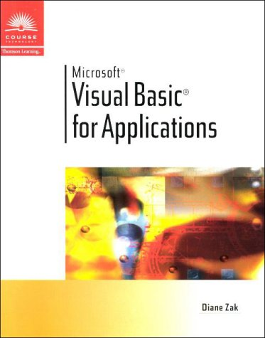 Visual Basic for Applications   2000 edition cover