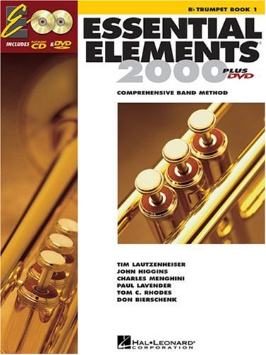 Essential Elements for Band Bb Trumpet  2004 edition cover
