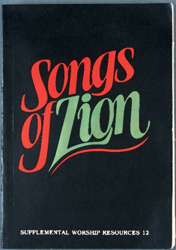 Songs of Zion  N/A edition cover