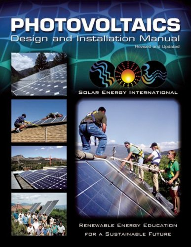 Photovoltaics Design and Installation Manual  2004 edition cover
