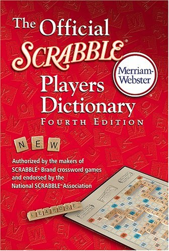 Official Scrabble Players Dictionary  4th 2005 (Revised) 9780877794202 Front Cover