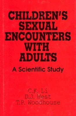 Children's Sexual Encounters with Adults A Scientific Study  1993 9780879758202 Front Cover