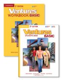 Ventures Basic Value Pack (Student's Book with Audio CD and Workbook with Audio CD)  2nd 2013 (Revised) edition cover