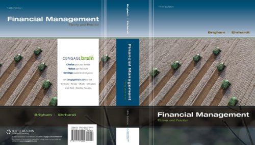 Financial Management Theory and Practice 14th 2014 9781111972202 Front Cover