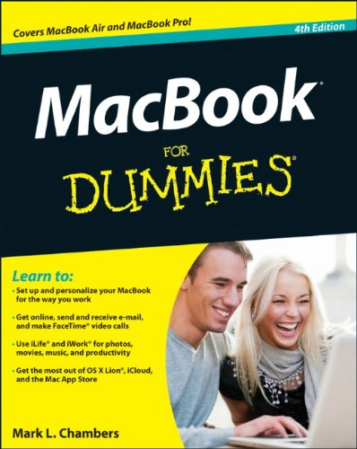 MacBook for Dummies  4th 2012 edition cover