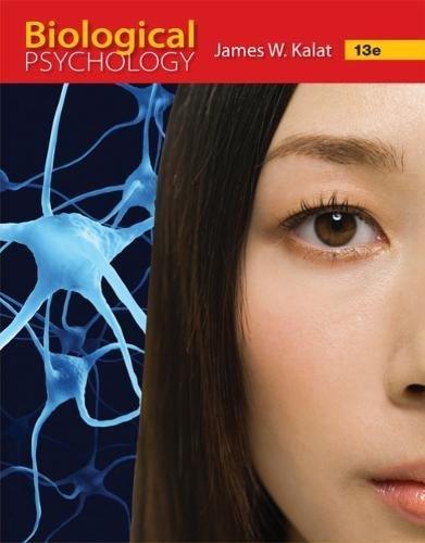 Biological Psychology:   2018 9781337408202 Front Cover