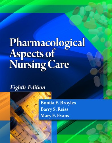 Pharmacological Aspects of Nursing Care  8th 2013 edition cover