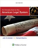 Introduction to the American Legal System  4th 2015 edition cover