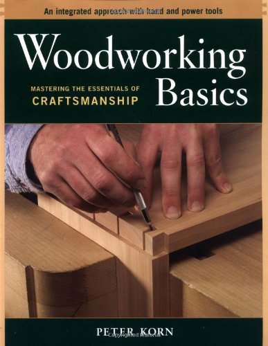 Woodworking Basics Mastering the Essentials of Craftsmanship - An Integrated Approach with Hand and Power Tools  2003 9781561586202 Front Cover