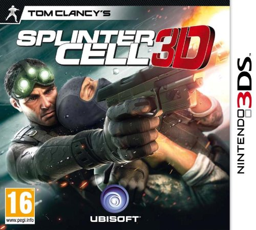 Tom Clancys Splinter Cell 3D [AT PEGI] Nintendo 3DS artwork