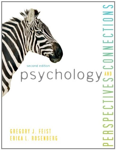 Psychology Perspectives and Connections 2nd 2012 9780078035203 Front Cover