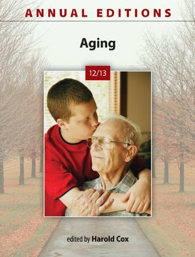 Annual Editions: Aging 12/13  25th 2013 edition cover