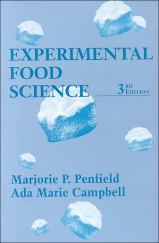 Experimental Food Science  3rd 2002 (Revised) edition cover