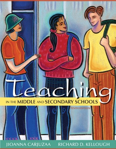 Teaching in the Middle and Secondary Schools  10th 2013 (Revised) edition cover