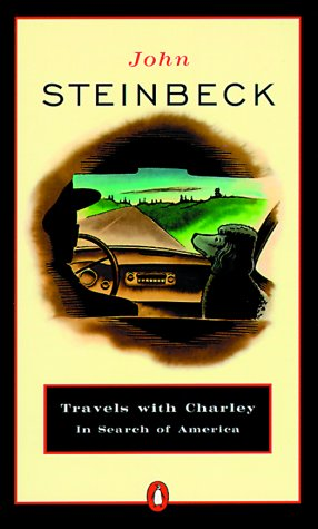 Travels with Charley in Search of America   1962 9780140053203 Front Cover