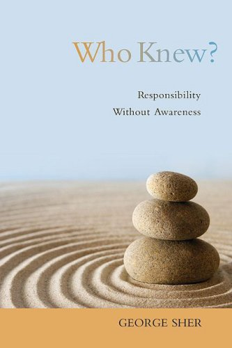 Who Knew? Responsibility Without Awareness  2009 edition cover