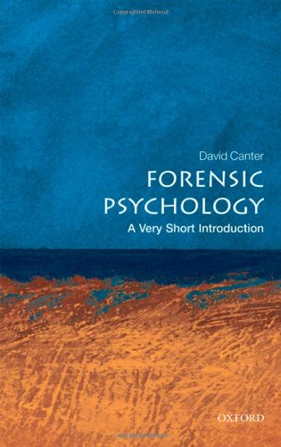 Forensic Psychology   2010 edition cover