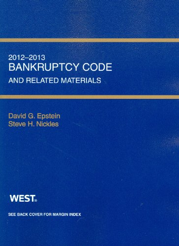 Bankruptcy Code and Related Source Materials, 2012-2013  2012nd 2012 9780314281203 Front Cover