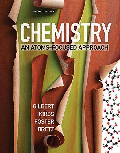 Chemistry An Atoms-Focused Approach 2nd 9780393615203 Front Cover