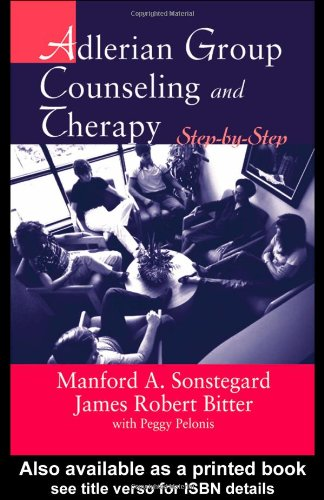 Adlerian Group Counseling and Therapy Step-by-Step  2004 edition cover