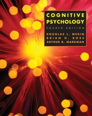 Cognitive Psychology  4th 2005 (Revised) edition cover