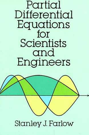Partial Differential Equations for Scientists and Engineers   1993 (Reprint) edition cover