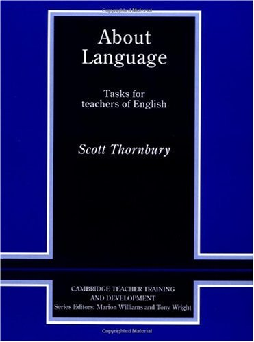 About Language Tasks for Teachers of English  1996 edition cover
