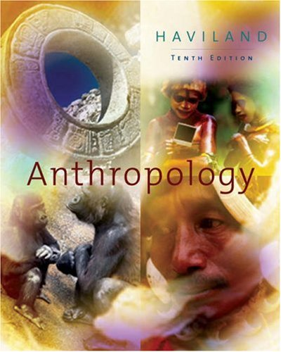 Anthropology  10th 2003 9780534610203 Front Cover