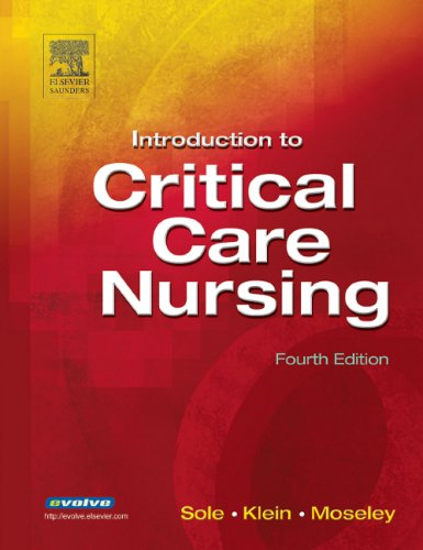 Introduction to Critical Care Nursing  4th 2005 (Revised) edition cover