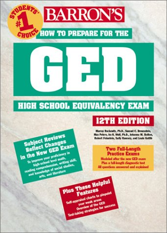 How to Prepare for the GED  12th 2002 9780764121203 Front Cover
