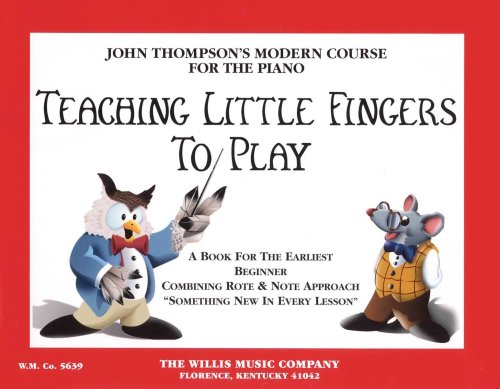 Modern Course for Piano Teaching Little Fingers to Play N/A 9780877180203 Front Cover