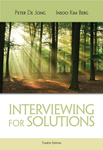 Interviewing for Solutions  4th 2013 edition cover