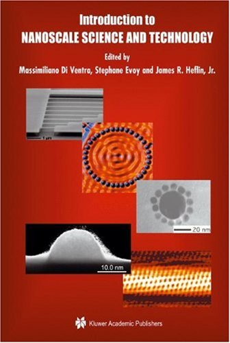 Introduction to Nanoscale Science and Technology   2004 9781402077203 Front Cover