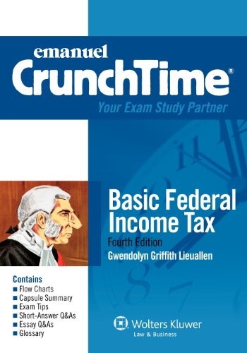 Basic Federal Income Tax  4th 2012 (Student Manual, Study Guide, etc.) edition cover