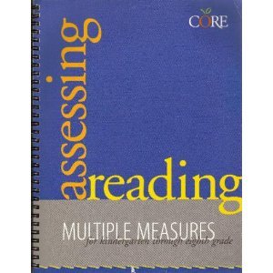 Assessing Reading Multiple Measures  1999 (Teachers Edition, Instructors Manual, etc.) edition cover