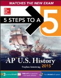 5 Steps to a 5 Ap Us History, 2015:   2014 edition cover