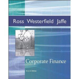 Corporate Finance 7th 2005 9780072829204 Front Cover