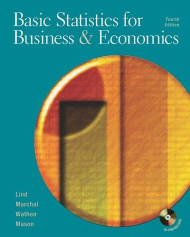 Basic Statistics for Business and Economics : With Student Powerweb 4th 2003 edition cover