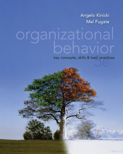 Organizational Behavior Key Concepts, Skills and Best Practices 5th 2012 9780078137204 Front Cover