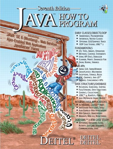 Java How to Program  7th 2007 (Revised) 9780132222204 Front Cover