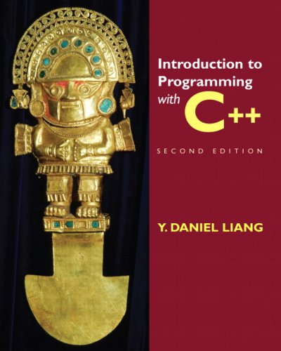 Introduction to Programming with C++  2nd 2010 edition cover