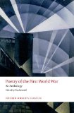Poetry of the First World War An Anthology  2014 edition cover