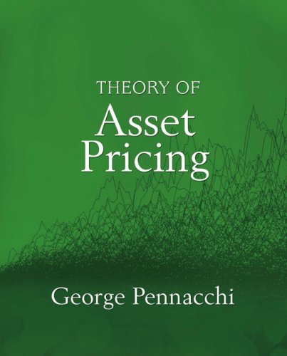 Theory of Asset Pricing   2008 9780321127204 Front Cover